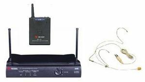 VOLTA US-1H (614.15) Микрофонная радиосистема с головным микрофоном UHF диапазона с фиксированной ч