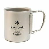 Кружка Snow Peak титановая Ti-Double 300 0.3Л