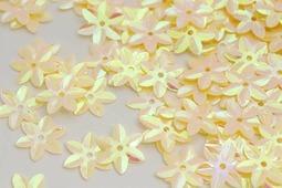 "Пайетки ""Ideal"", цвет: светло-желтый (20), 15 мм, 50 г"