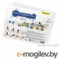 Пленка Silwerhof 383003 для учебника (набор 10шт) ПП 100мкм гладкая прозр. 360х500мм