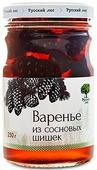 Русский лес Варенье из зеленых сосновых шишек, 250 г