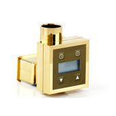 Блок управления для скрытого подключения KTX-3 золото 03-1517-0004