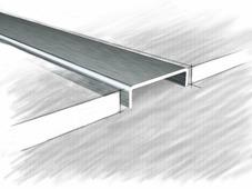 Профиль перфорированный 39171А нержавеющая сталь матовая 250 см