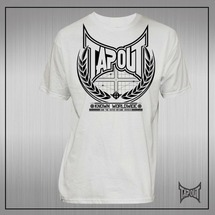 Американская футболка мужская Tapout Known Mens tshirt белая