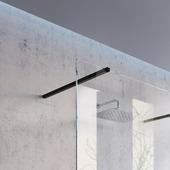 Держатель Ravak W SET-1000 Wall/Corner черный, GWD010003019