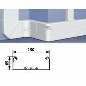 Профиль кабель-канал 65x150 -1 или 2 секции - длина 2 метра. Цвет Белый. Legrand DLP (Легранд ДЛП). 010433