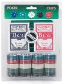Сувенирный набор Magic Home, для игры в покер, 79867, 19 х 24,5 см