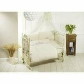 Постельный комплект Feretti Sestetto Long Beige, Flower White 6 предметов