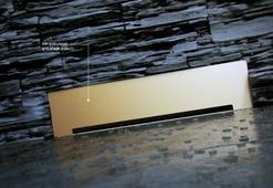 Душевой лоток встраиваемый в стену Pestan Confluo Wall Gold, 13100061