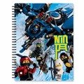 LEGO Тетрадь на спирали Ninjago Movie 51872 Линейка 70 листов
