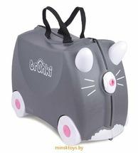 Детский чемодан на колесиках Котенок Бенни Trunki 0180-GB01