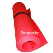 Коврик (пенка) гимнастический/туристический 8*0.6L1.8 красный