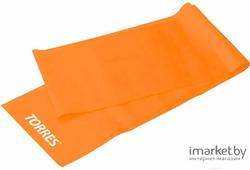 Минитренажер Torres Латексная лента дл. 120 см, шир.15 см, толщ. 0,35 мм. сопротивление 4 кг оранжевый [AL0020/21]