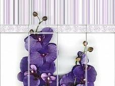 Панель ПВХ Vox Digital print Орхидея виолла деко