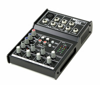 Invotone MX5 - микшерный пульт, 1 микрофонный вход, ,XLR и балансный Jack,2 стерео входа