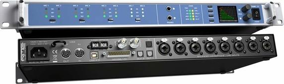 RME Octamic XTC - 8 канальный микрофонный предусилитель c ДУ 24 Bit / 192 kHz