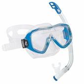 Детский комплект маска + трубка для плавания Cressi Ondina Vip Jr