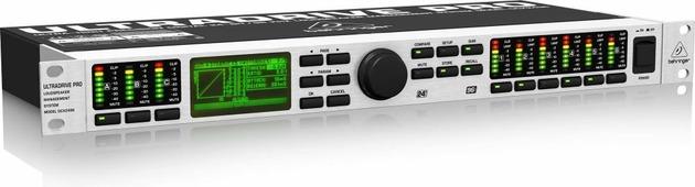Behringer DCX2496 Цифровая сиcтема управления громкоговорителями 24 бит/ 96 кГц (3 вх., в т.ч. AES/EBU, 6 вых., динамическая обработка, эквализация, кроссоверизация, линии задержки, RS-232, RS-485)