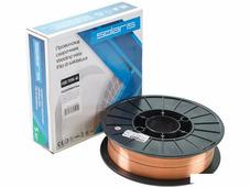Сварочная проволока Solaris ф0,8 мм (катушка 5 кг) WM-ER70S6-08050