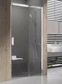 Душевая дверь Ravak Matrix MSD2-100 L блестящий+транспарент