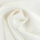 "Ткань для батика Gamma ""Crepe de Chine"", цвет: белый, арт. SG-463"