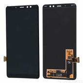 Дисплей Samsung A730F (A8+ 2018) в сборе с тачскрином, черный