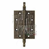 Петля дверная универсальная латунная Venezia CRS011 102 мм античная бронза