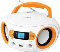 Портативная аудиосистема BBK BS15BT белый/оранжевый