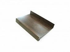 Отлив оконный Bauset алюминий 1мм, 180х6000мм, орех