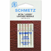 Набор игл кожа SCHMETZ LEDER LEATHER CUIR №80 (5 шт.)