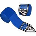 Бинты боксерские RDX 4.5M elasticated hands wraps синие