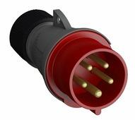 Разъемы силовые ABB 416EP6 Вилка кабельная Easy&Safe 16A, 3P+N+E, IP44 ABB, 2CMA101967R1000