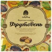 Сибирский Кедр конфеты фрутодень с кедровыми орешками в шоколадной глазури, 120 г