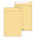 Крафт конверт С4 (230*330мм), стрип-лента, клапан прямой, боковое расширение (LargePack). Конверты - в упаковке 200 шт.
