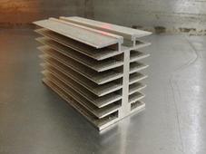 Радиаторный алюминиевый профиль 45х60мм