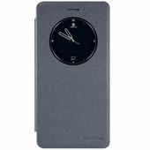 Полиуретановый чехол книга Nillkin Sparkle Leather Case Black Lenovo K5 Note/A7020