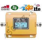 Репитер GSM DCS LTE 4G 1800 МГц - усилитель сигнала телефона и Интернета