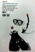 Набор для плавания intex 55657 (маска, трубка, ласты)