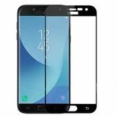 Противоударное защитное стекло Full Screen Cover 0.3 mm черное Samsung Galaxy J7 (2018)
