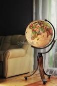 Глобус диаметр 50 см напольный, политическая карта Nova Rico EMILY