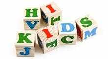 """Томик Набор деревянных кубиков """"Английский алфавит"""", 12 шт."""