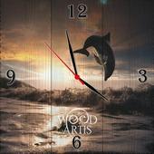 """Настенные часы """"Сальто над водой"""""""