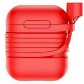 Чехол Baseus Silicone для Case for AirPods (красный)