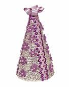 """Новогодняя ёлка из пайеток """"Фиолетовая"""", набор для творчества (Волшебная мастерская)"""