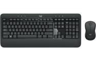 Клавиатура+ мышь Logitech MK540 Advanced (920-008686) (Беспроводной комплект, 1000dpi, 3кн)