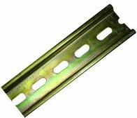 DIN-рейка низкая 7.5х35мм, перфорированная, длина 2000мм Profilati, TS35 F6