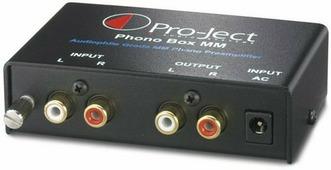 Фонокорректор Pro-Ject Phono Box MM (DC)