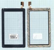 Тачскрин (сенсорное стекло) для планшета FHF70180 7, черный