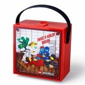 LEGO Контейнер для ланча NINJAGO 40511733 с ручкой красный