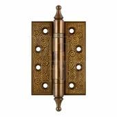 Петля универсальная Armadillo Castillo CL 500-A4 102x76x3.5 коричневая бронза